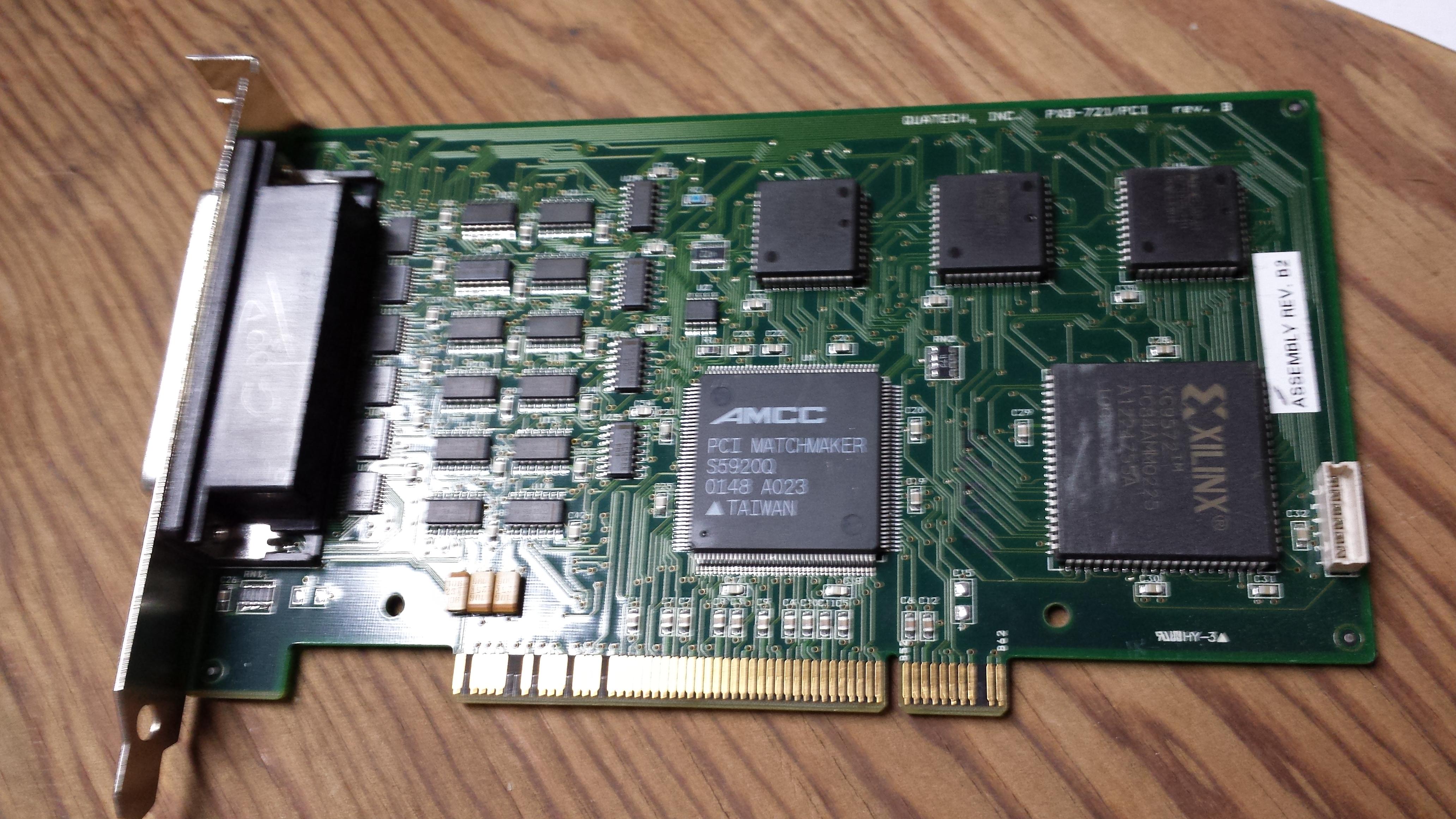QUATECH PXB-721/PCI