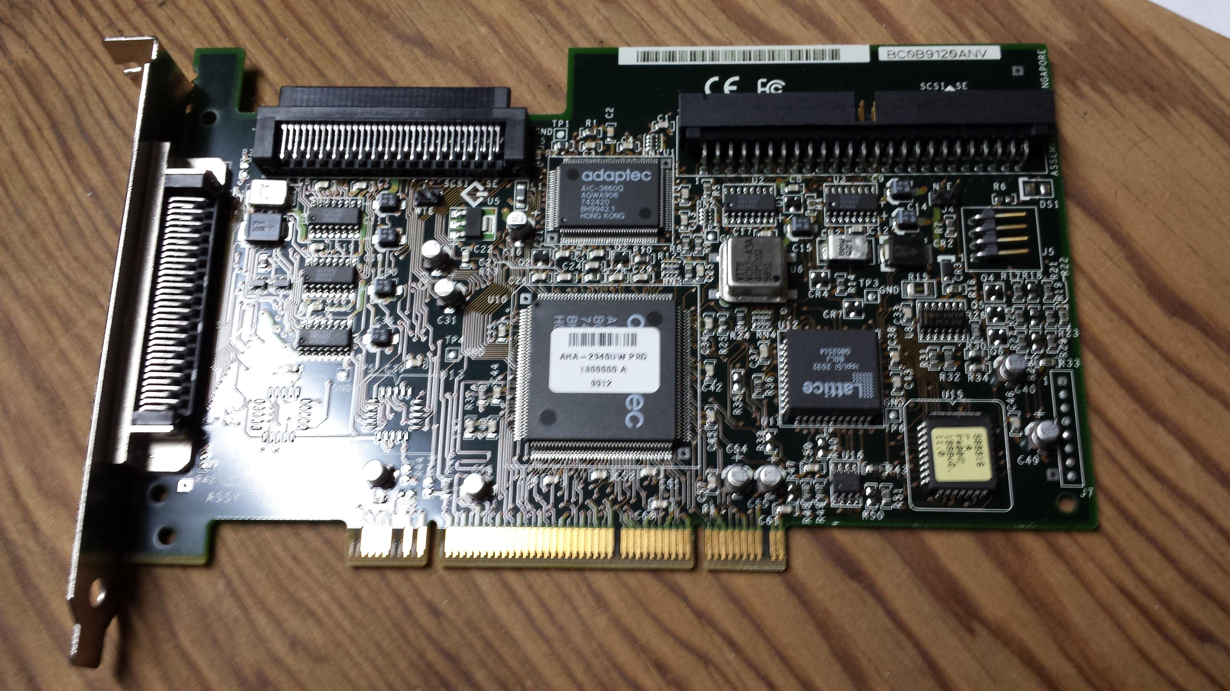 Adaptec AHA-2940uw pro PCI SCSI